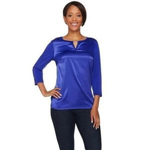 Susan Graver Liquid Knit Top